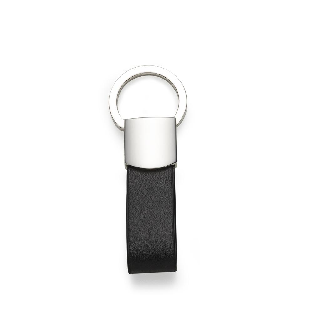 Chaveiro Metal com Couro-10029