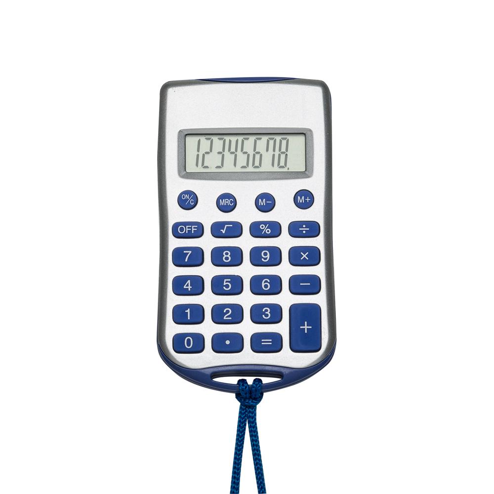 Calculadora Plástica com Cordão-01648