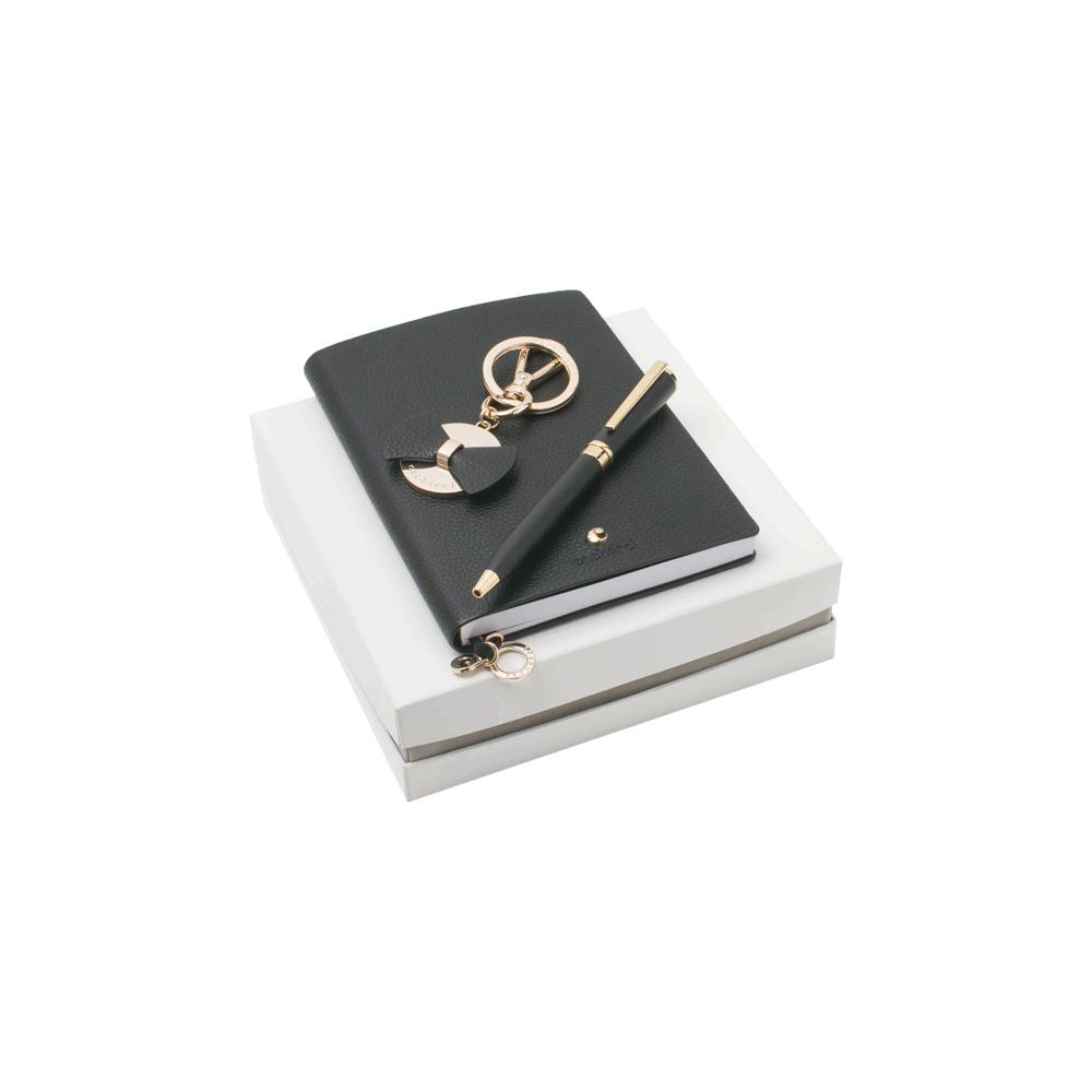 Kit caderno, chaveiro e esferográfica-41058