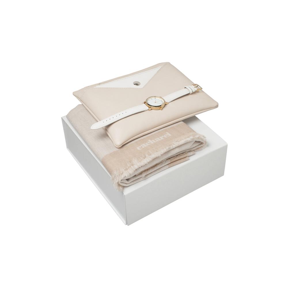 Kit cachecol, bolsa e relógio-41063