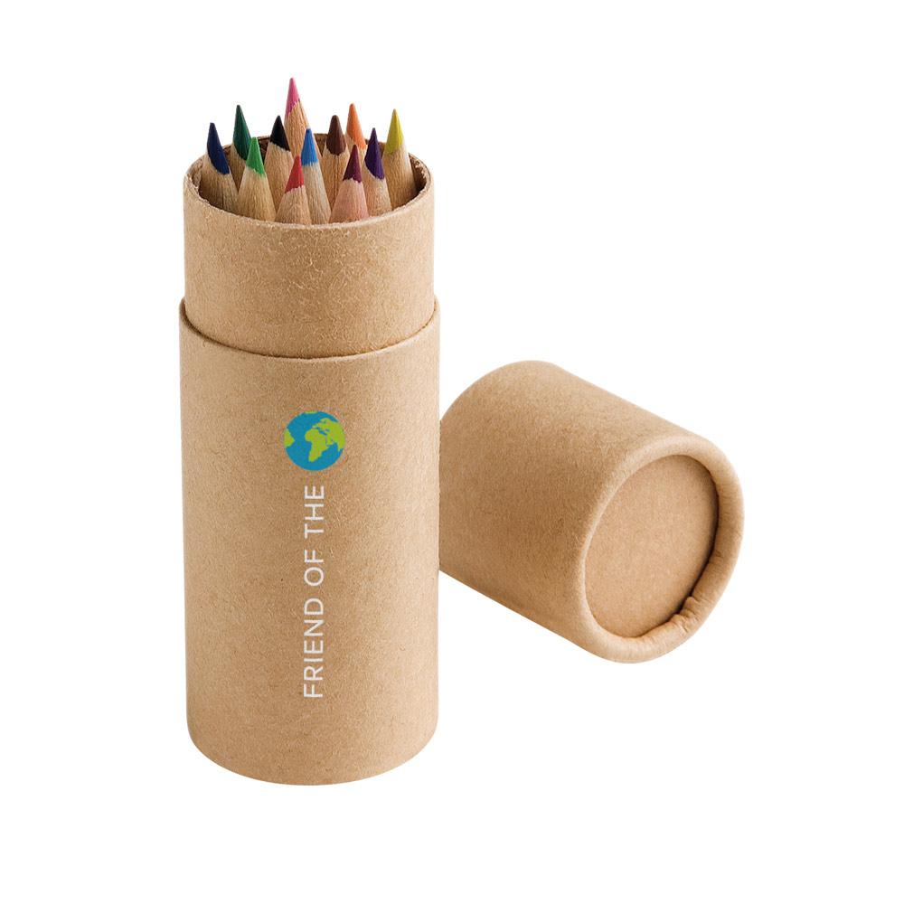 Caixa com 12 lápis de cor CRICKET-51752