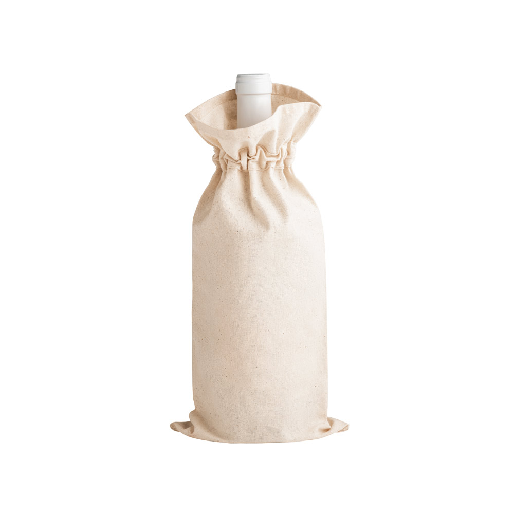 Sacola para garrafa 100% algodão JEROME-92883
