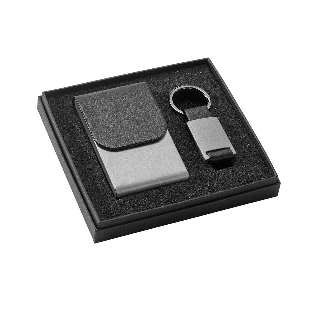 Kit porta cartões e chaveiro-93313