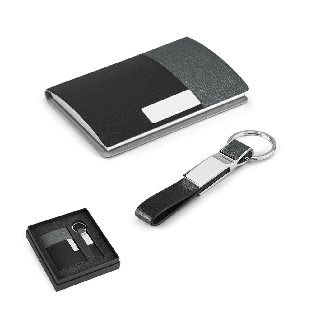 Kit de porta cartões e chaveiro-93314