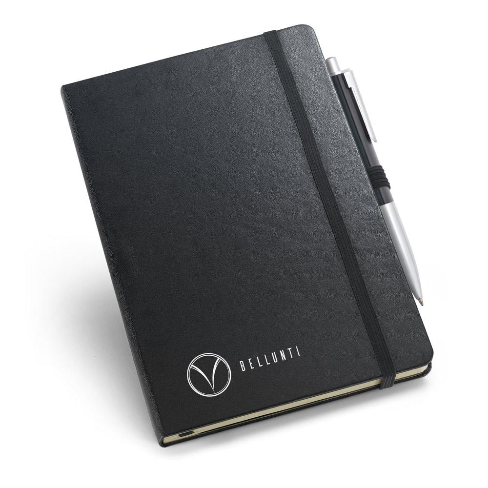Kit de caderno e esferográfica-93499