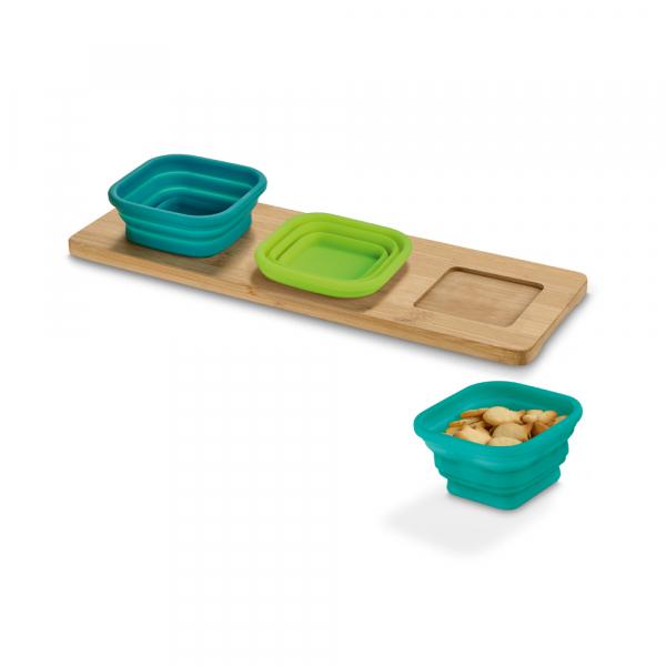 Base de mesa com 3 potes-93885
