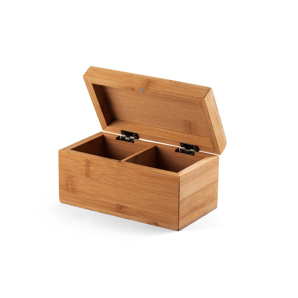 Caixa de chás em bambu VERBENA-93977