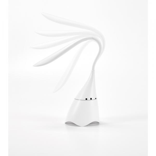 Luminária de mesa com caixa de som