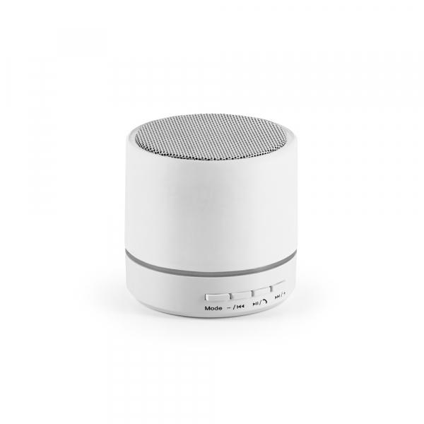Caixa de som com microfone BRANCO-97253-BRA