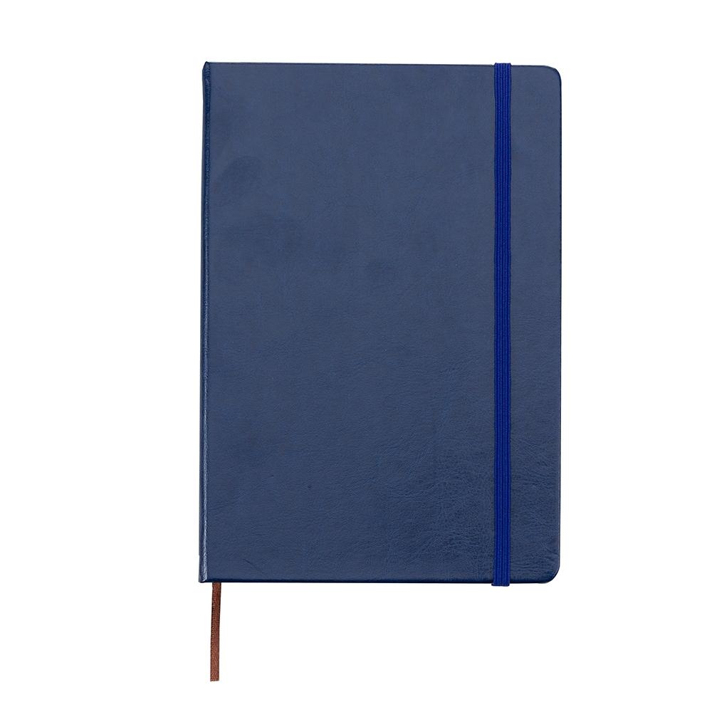 Caderneta tipo Moleskine de Couro Sintético-03005