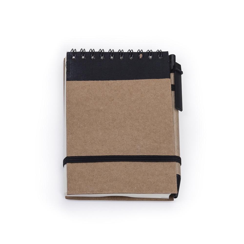 Bloco de anotações com caneta-12681