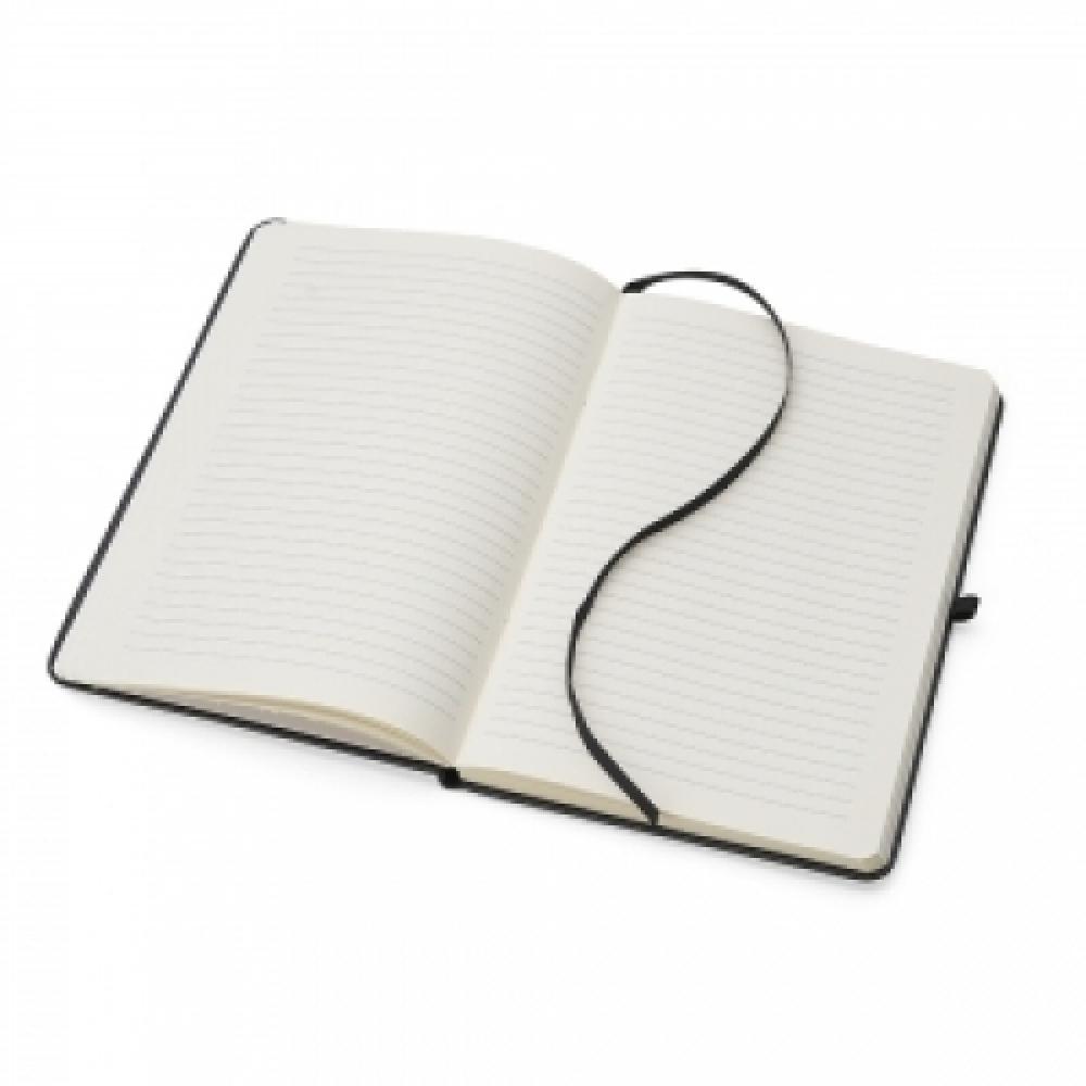 Caderneta tipo Moleskine de Couro Sintético-14403P