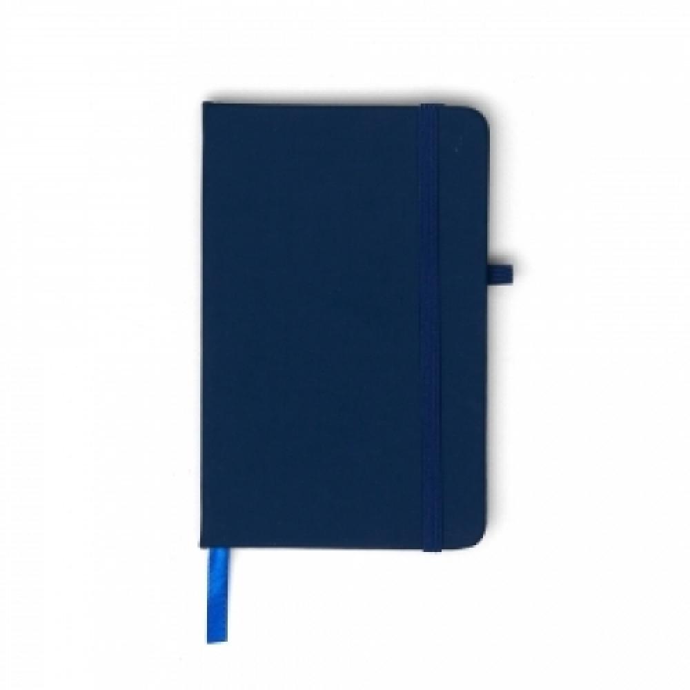 Caderneta tipo Moleskine com Porta Caneta-14091
