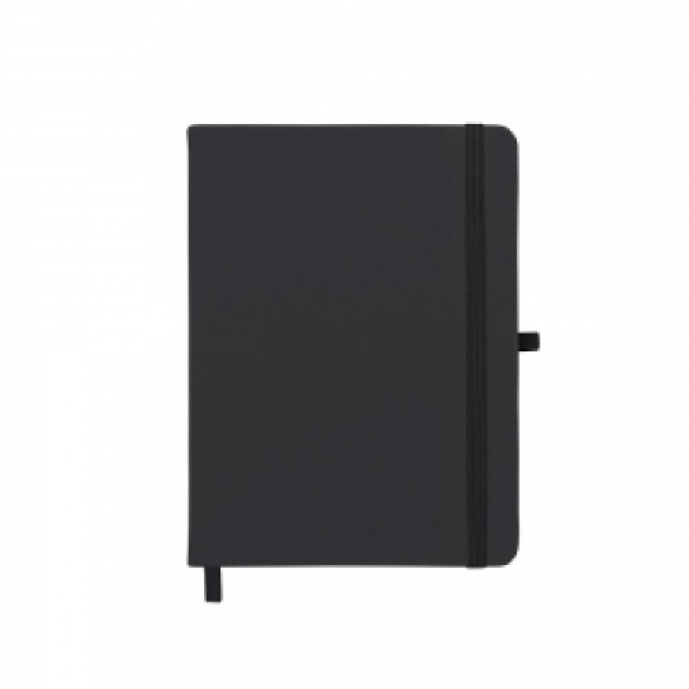 Caderneta tipo Moleskine com Porta Caneta -14429P