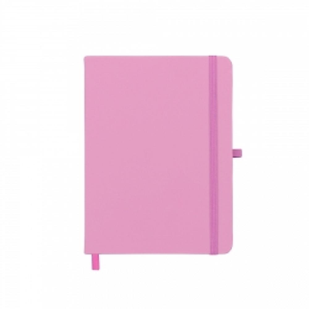 Caderneta tipo Moleskine com Porta Caneta-14429S