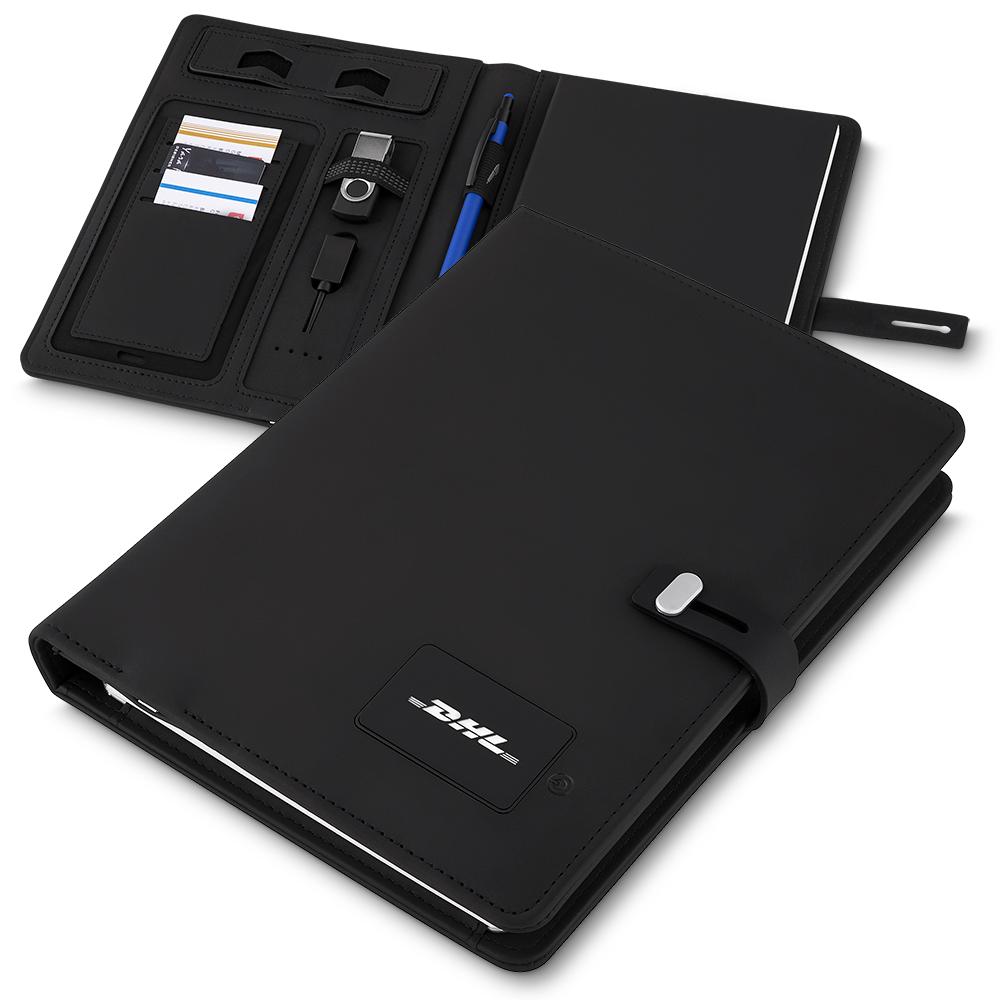Caderno c/ Powerbank-CAD230