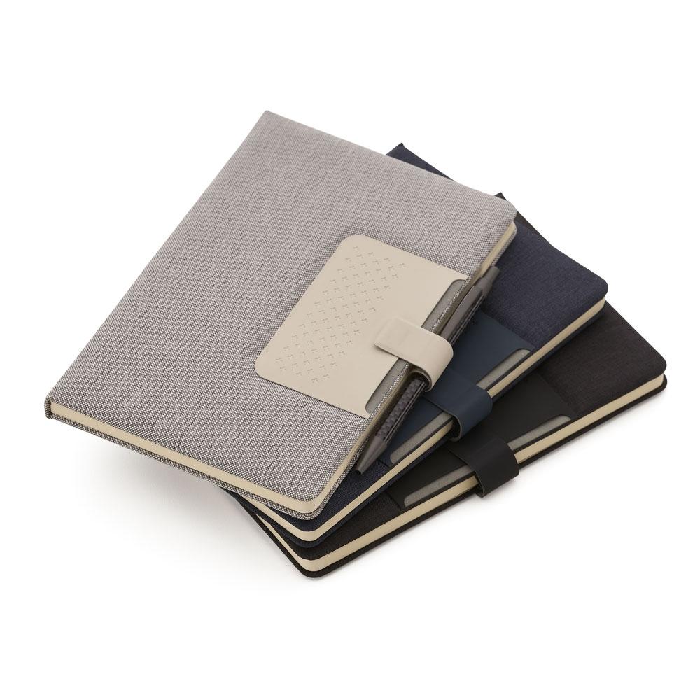 Caderno com Porta Caneta-14317