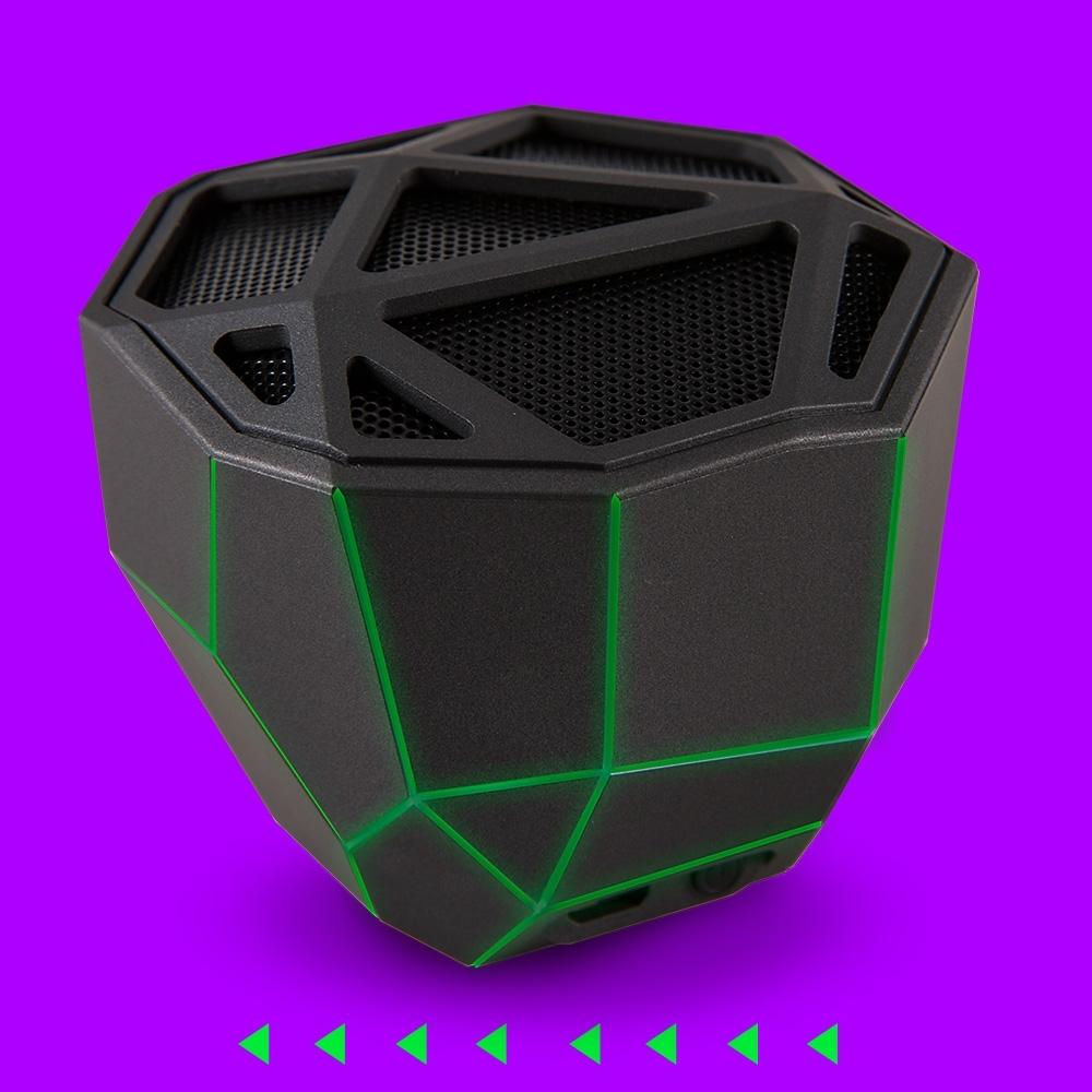 Caixa de som Bluetooth Geo com iluminação-XP81016