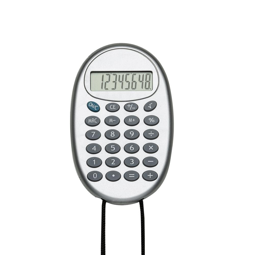 Calculadora Plástica com Cordão