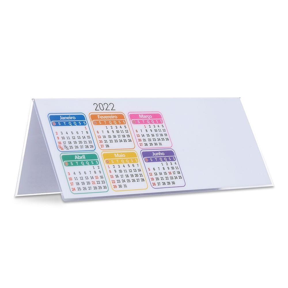Calendário Plástico 2022