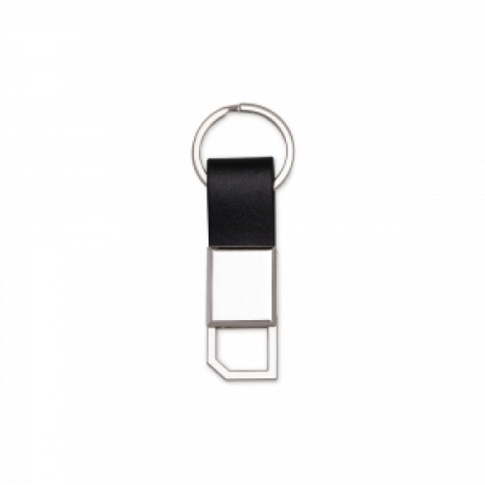 Chaveiro Metal com Couro-14504