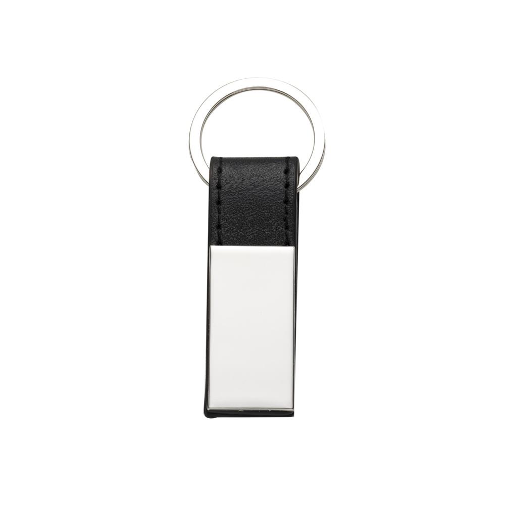 Chaveiro Metal com Couro-10026