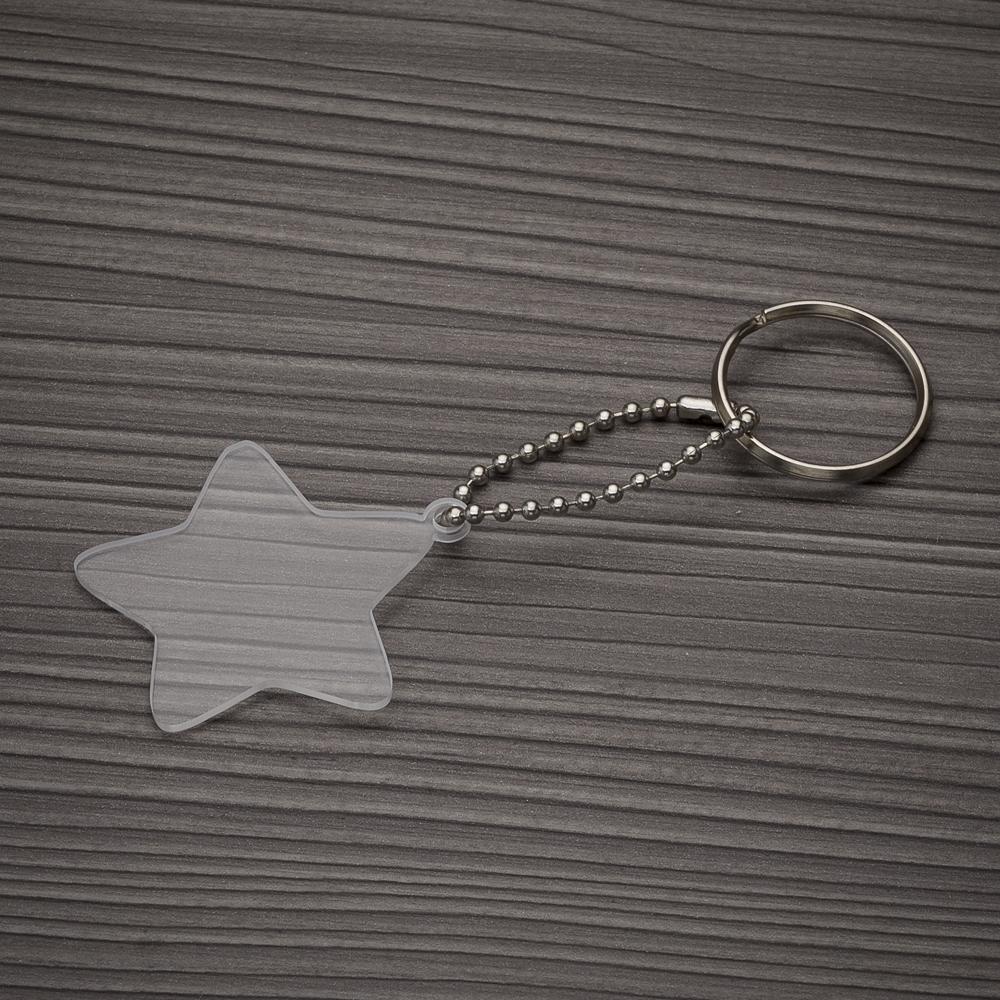 Chaveiro Plástico Estrela-P@13278