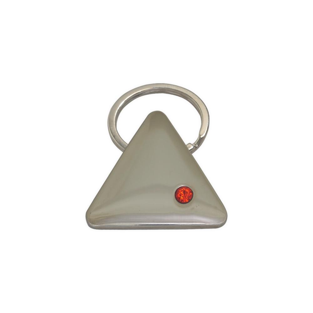 Chaveiro de Metal Triangular
