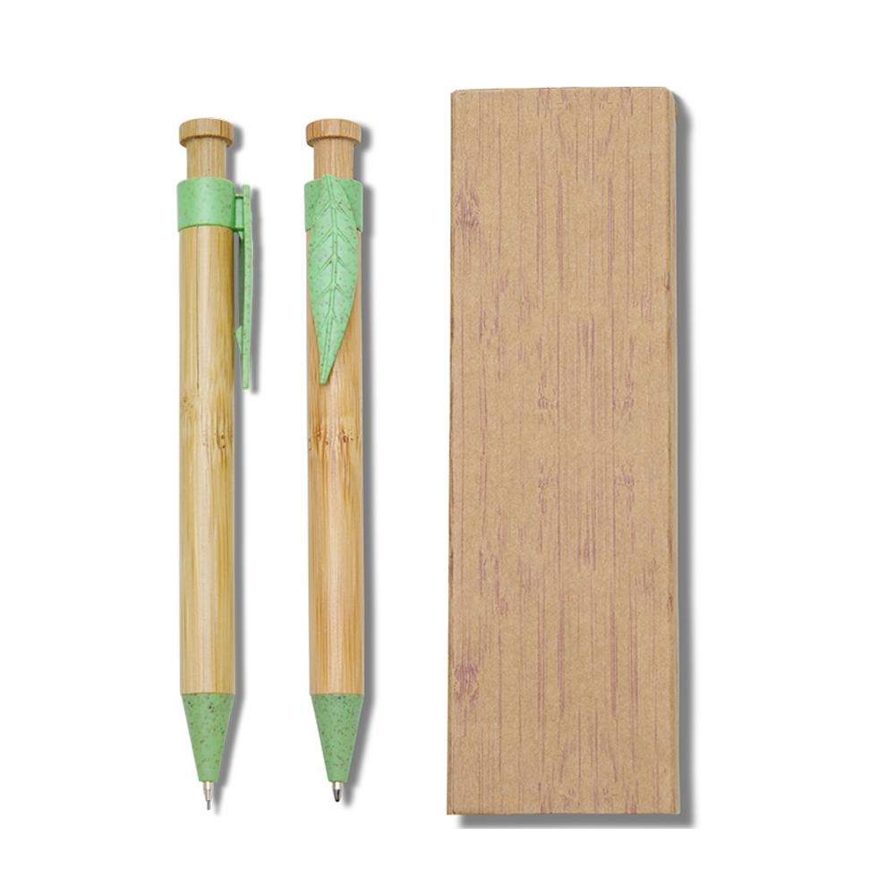 Conjunto Caneta e Lapiseira Bambu-14334