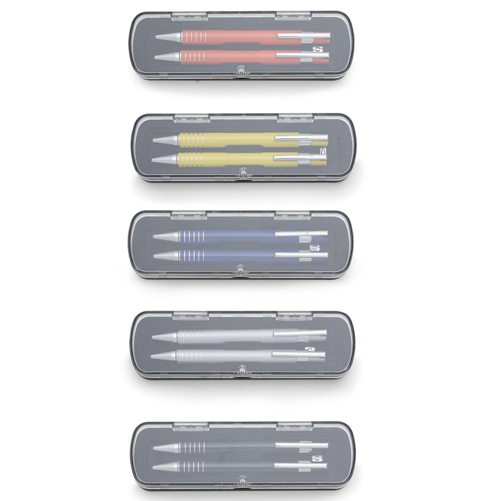 Conjunto Caneta e Lapiseira Semimetal-12609