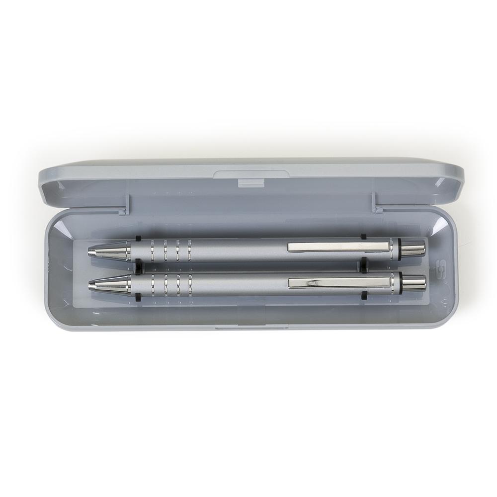 Conjunto Caneta e Lapiseira Semimetal-12608