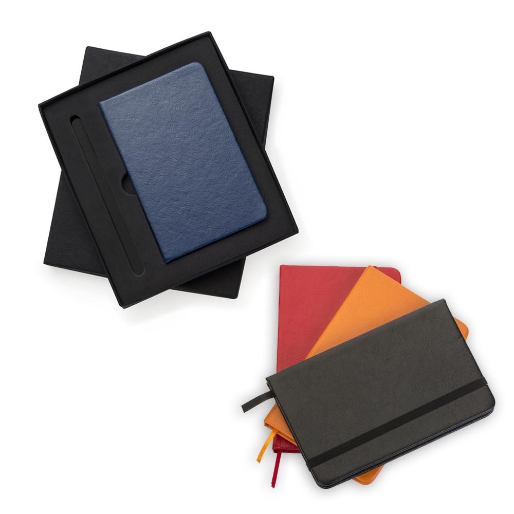 Conjunto Estojo e Caderneta tipo Moleskine-13017