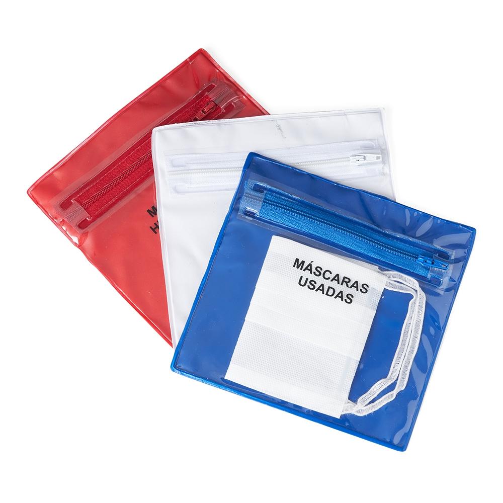 Envelope Plástico Duplo para Máscaras-14556P