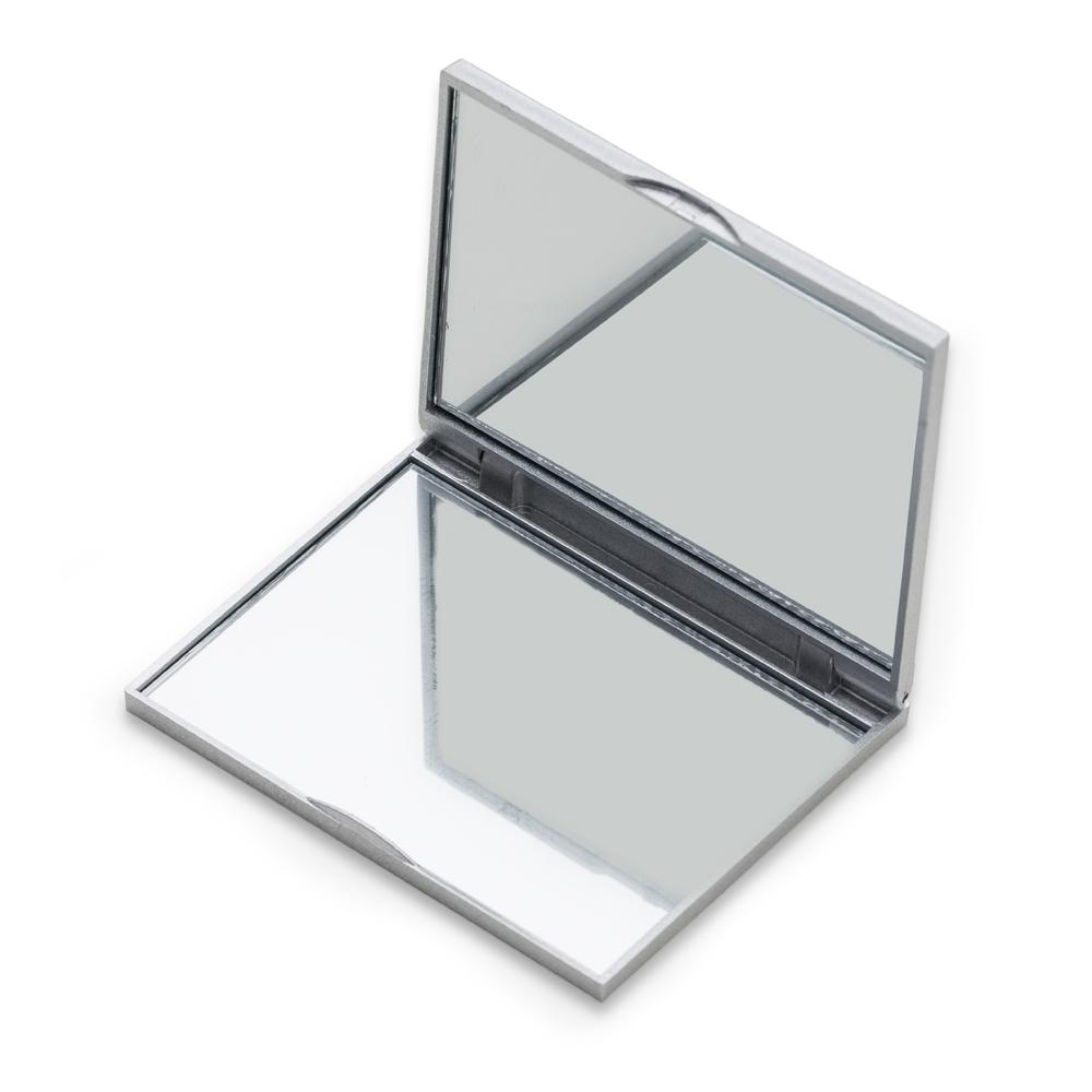 Espelho Plástico Duplo Sem Aumento-09810
