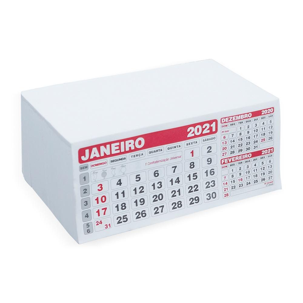 Folhinha Calendário 2021-12658
