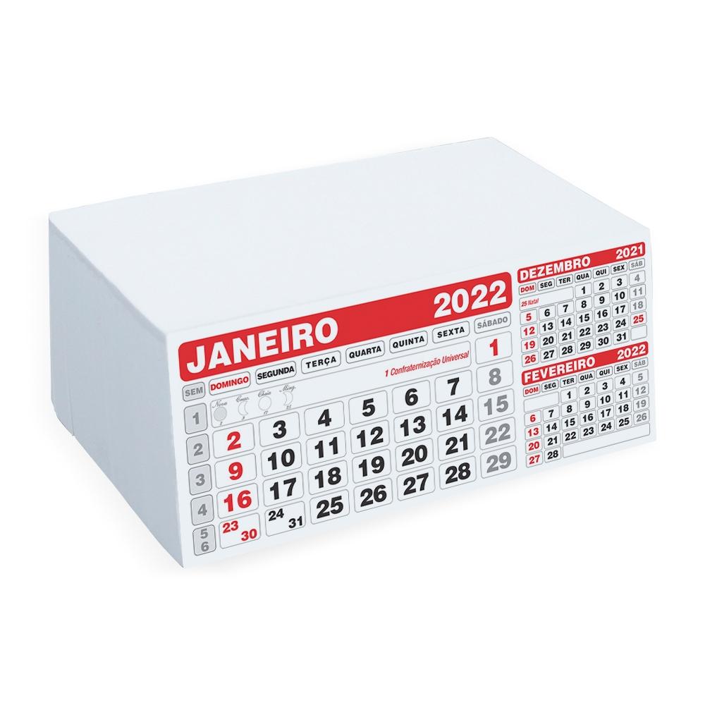 Folhinha Calendário 2022-12658