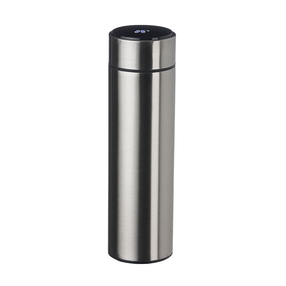Garrafa Inox 450 ml com Display LED