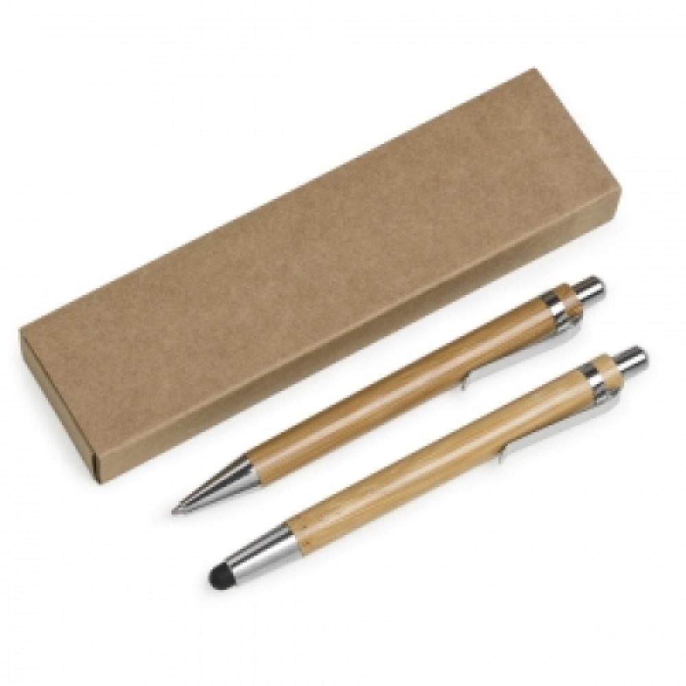 Kit Ecológico Caneta e Lapiseira Bambu-13796