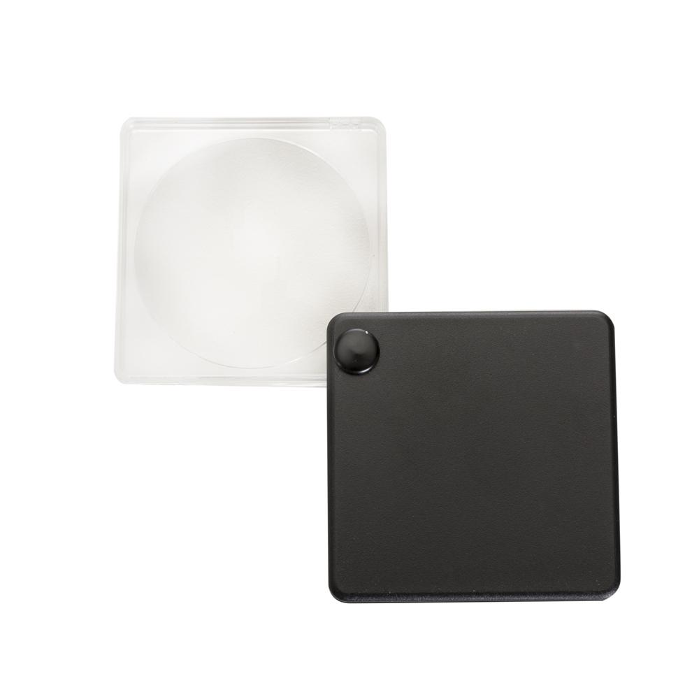 Lupa com capa plástica preto-11937