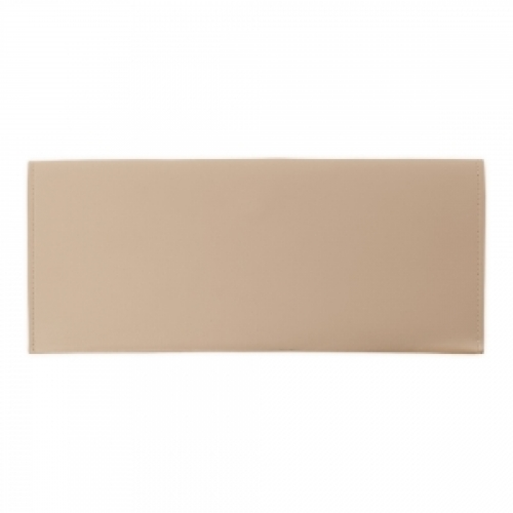 Pasta Envelope de Couro-P@13122-BEG