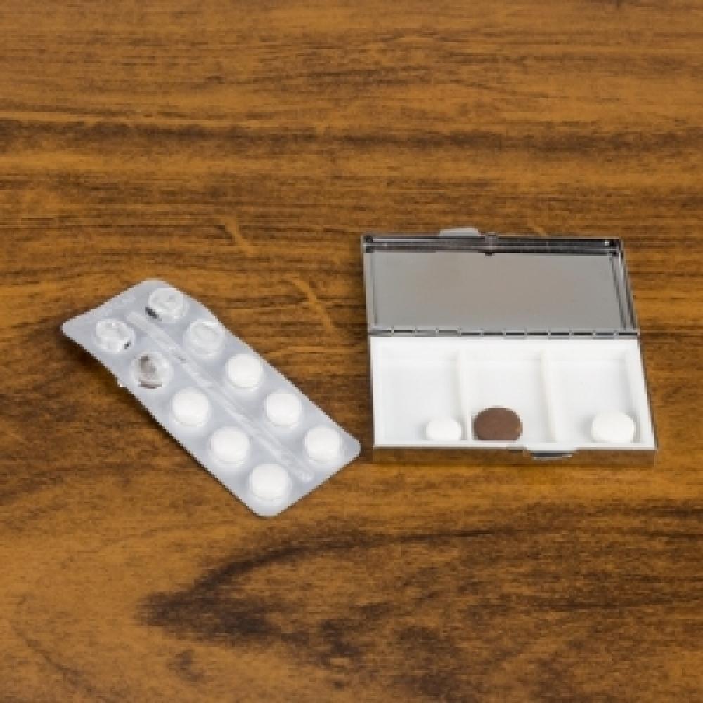 Porta Comprimido Metal-13785