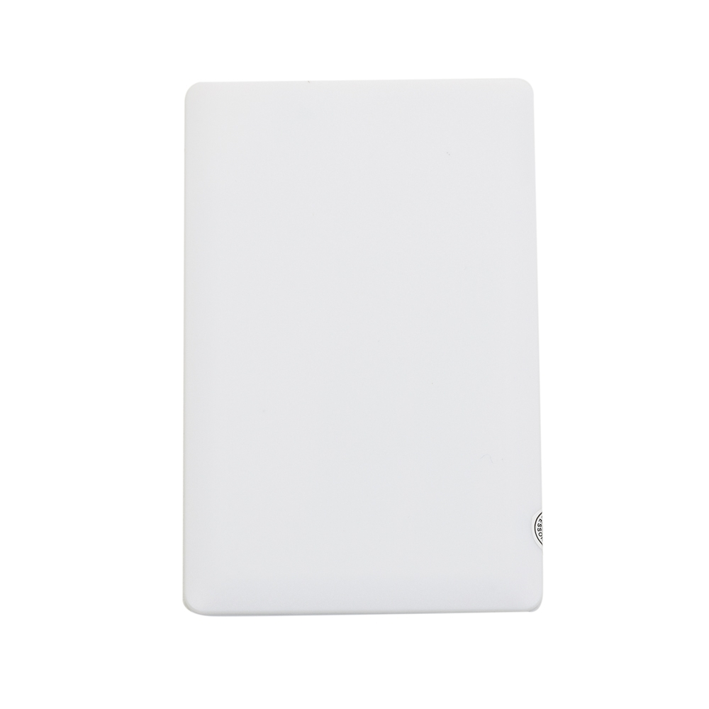 Power Bank Plástico Formato Cartão com indicador Led