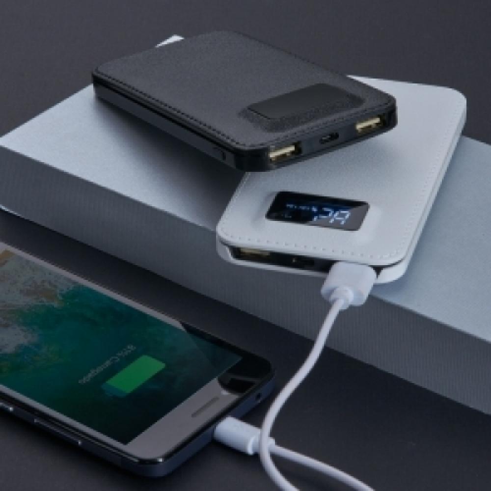 Power Bank Plástico com Indicador Digital-02032