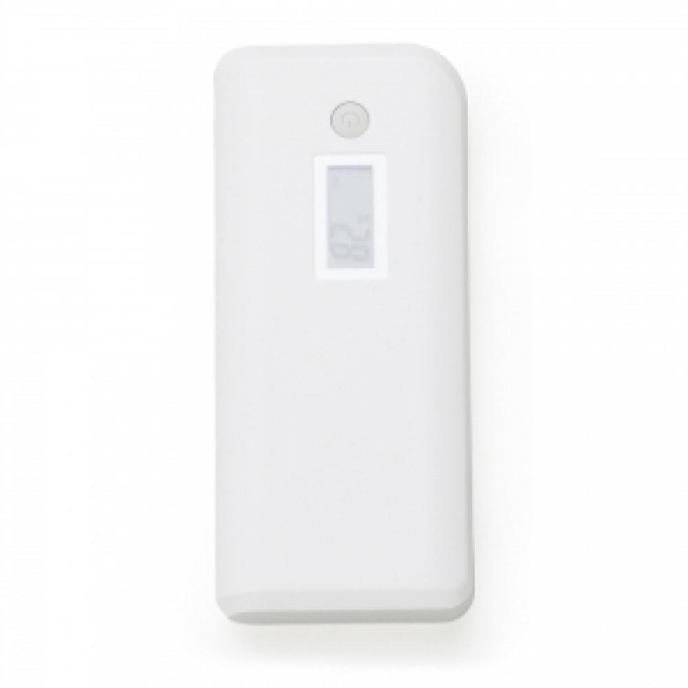 Powerbank Plástico com Indicador Digital e Lanterna-12903