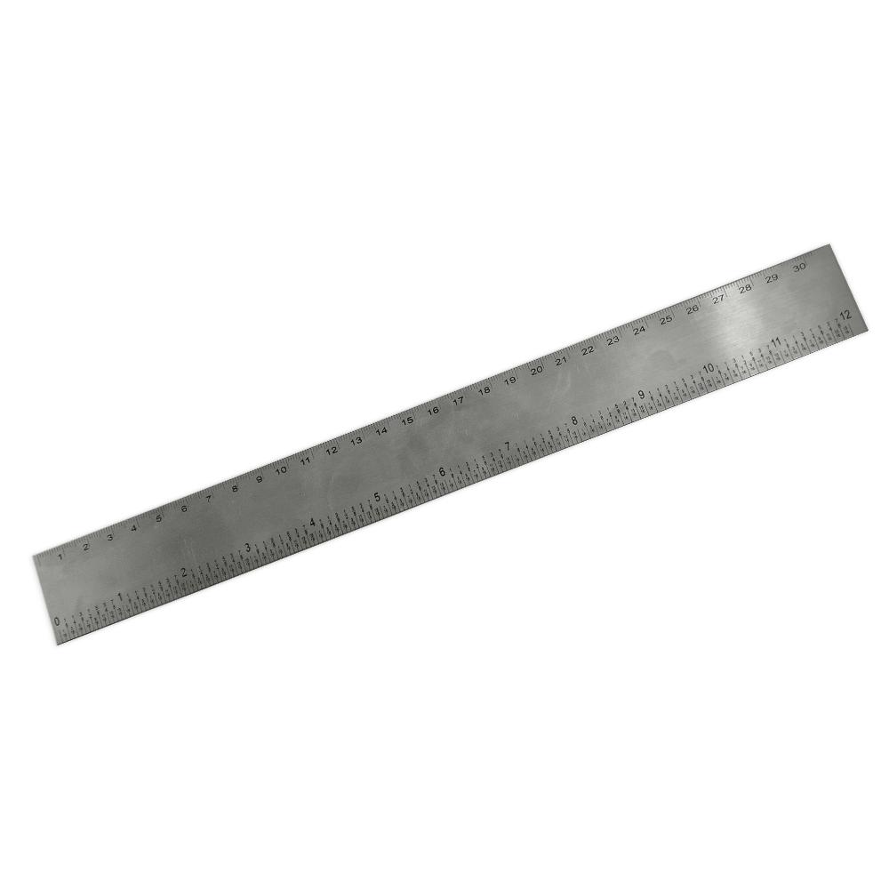 Régua 30cm Inox-13120