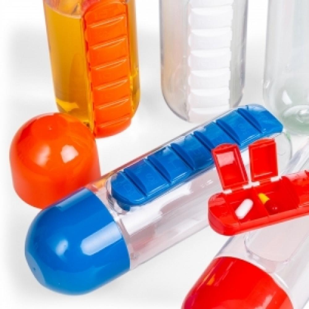 Squeeze Plástico 700ml Porta Comprimido-13996