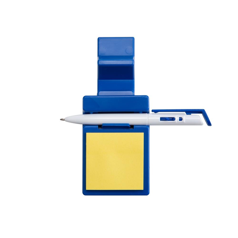 Suporte Plástico Celular com Caneta e Bloquinho-14007
