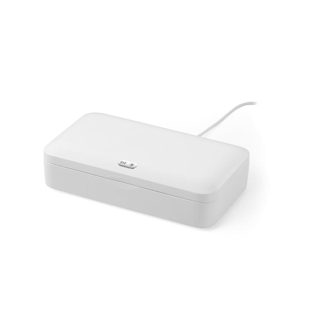 Caixa esterilizadora UV com carregador wireless Fast GERMOUT-58519