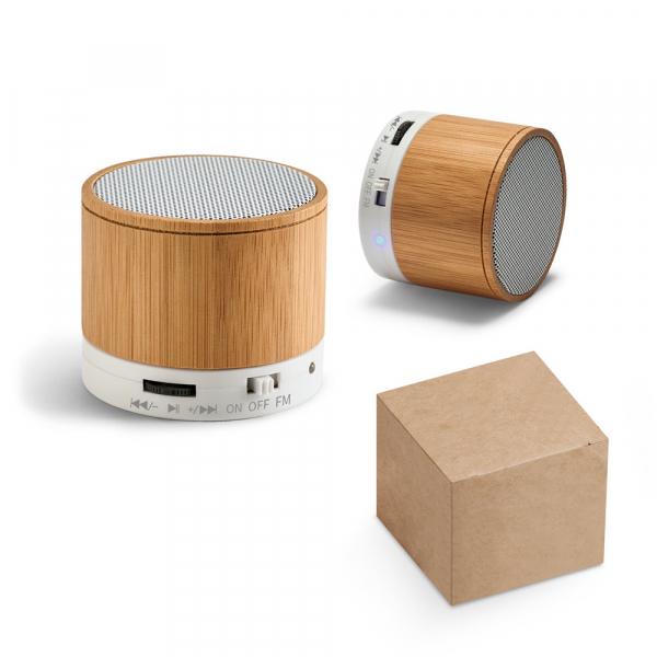 Caixa de som com microfone-97256