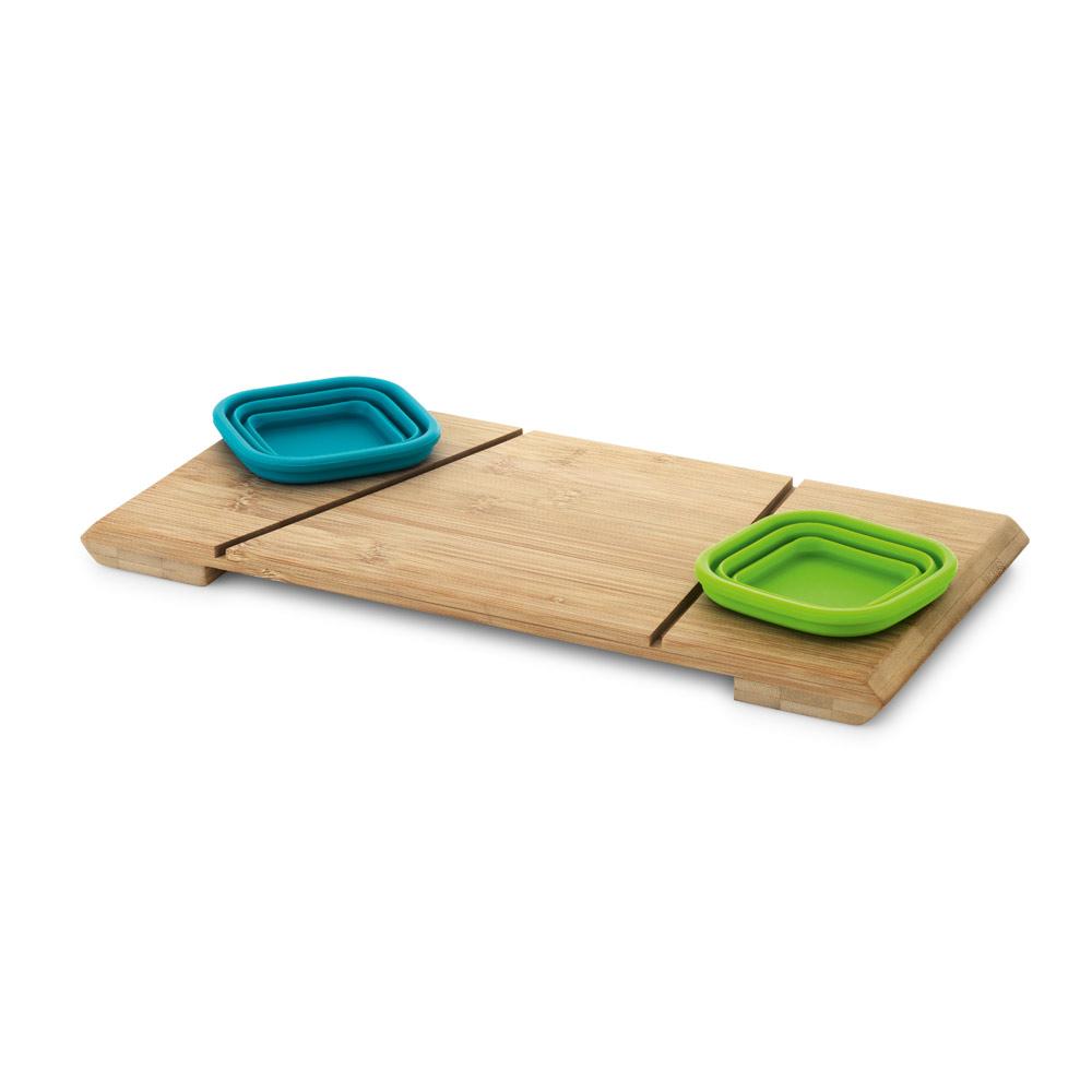 Base de mesa com 2 potes